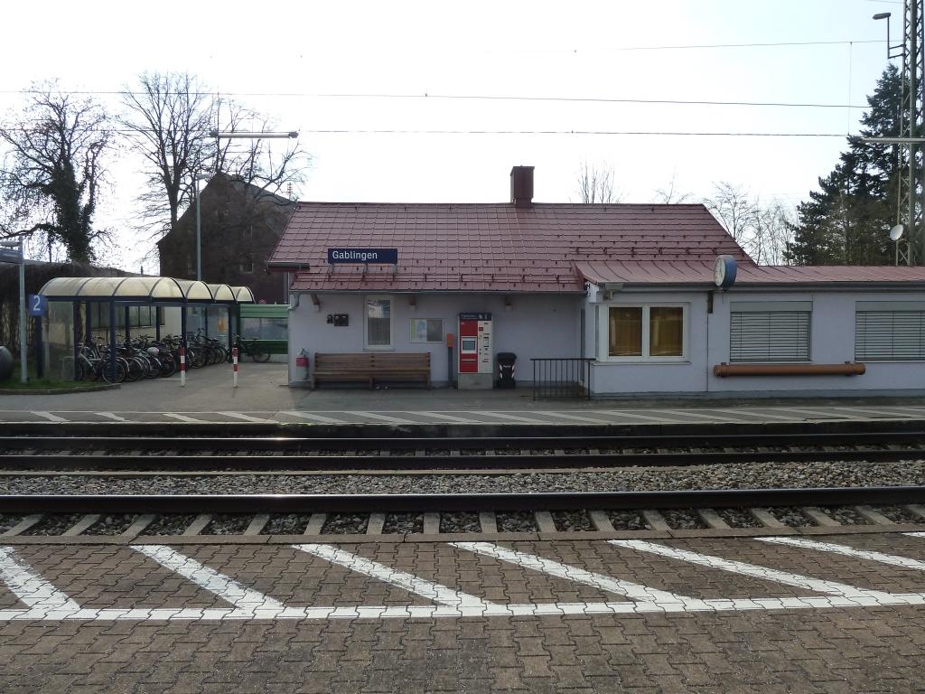 Bahnhof Gablingen