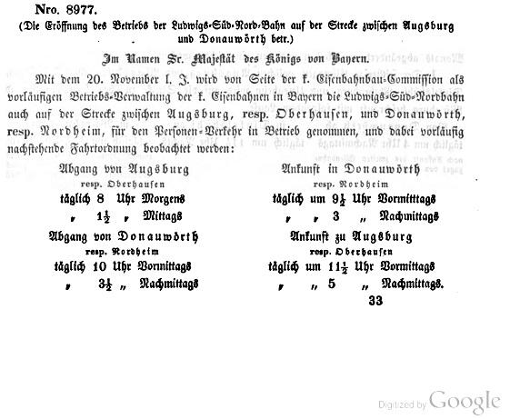 Die Geschichte Der Bahnstrecke Augsburg Donauwörth Zusi